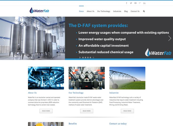 Waterfab website waterfab.com.au