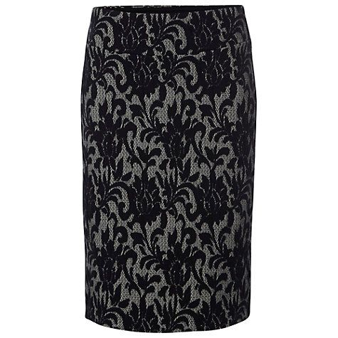 Buy White Stuff Ornate Skirt, Navy Online at johnlewis.com