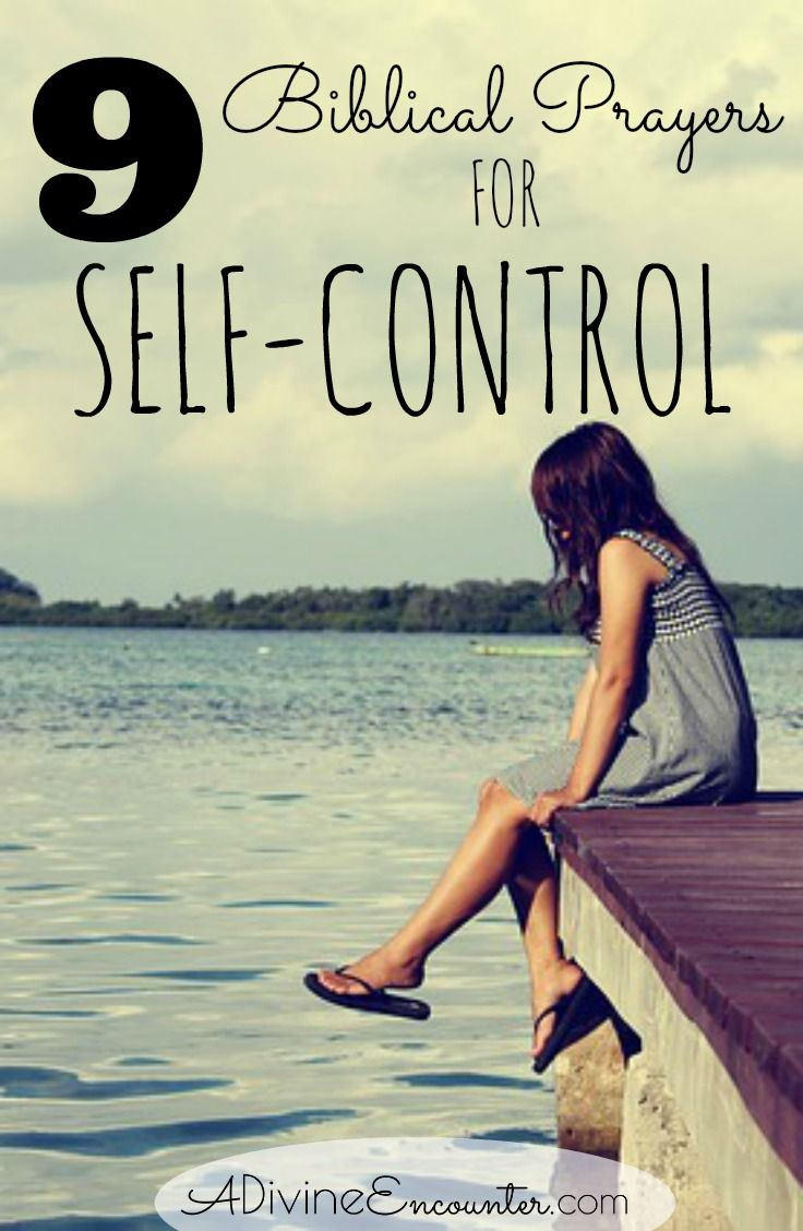 Many Christians struggle with self-control, but few spend significant time praying about it. Here are nine biblical prayers for self-control.