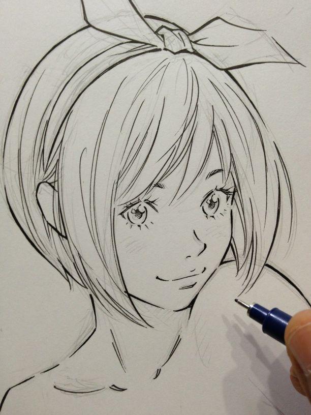 Twitter / EISAKUSAKU: ペン入れサラサラ。 ...
