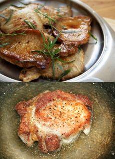 Эскалоп из свинины на сковороде / Простые рецепты