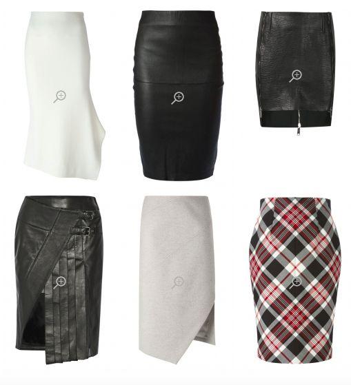 Юбки Яркого Гамина узкие, облегающие фигуру в области бедер.  Короткие и узкие юбки-карандаш.  Длинные зауженные юбки , со шлицей сзади.  Узкие облегающие юбки, сшитые по косой, с неравномерным подолом, доходящим до середины икры.  Юбки с несимметричным подолом.  ! Избегайте: юбок-трапеций, широких и бесформенных, расклешенных и ниспадающих или пышных юбок. Юбок с оборками и мягкими складками, юбок с острыми складками, начинающимися на уровне бедра.