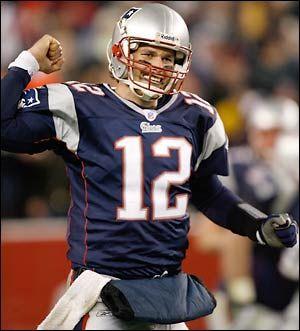 NE Patriots Quarterback, Tom Brady