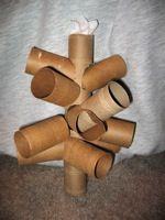 Gerbil love toilet paper and  papertowel rolls