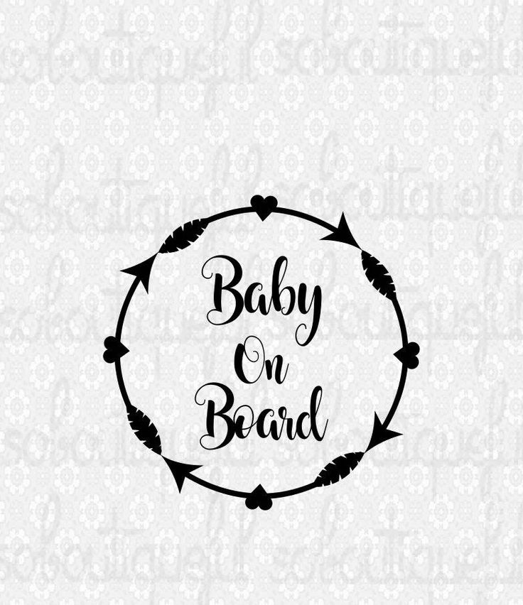 Baby On Board svg, newborn svg, New Mom Svg, Popular Baby