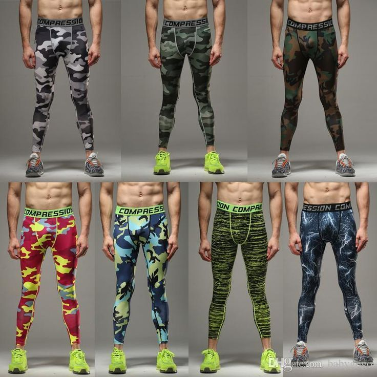 Best Quality Mens Running Camo Base Layer Fitness Jogging Compression Tights Long Pants Sport Basketball Training Leggings Mens Gym Wear At Cheap Price, Online Pants | Dhgate.Com
