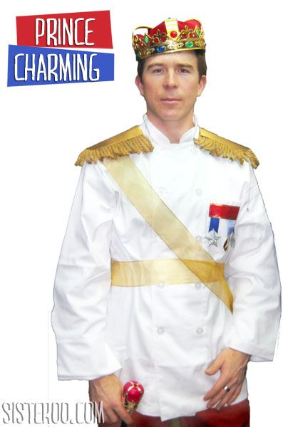 DIY adult Prince Charming costume!