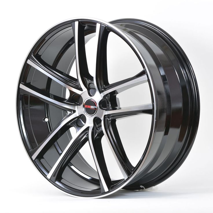 4 GWG Wheels 18 inch Black Machined ZERO Rims fits 5x114.3 NISSAN ALTIMA COUPE #GWGWHEELS