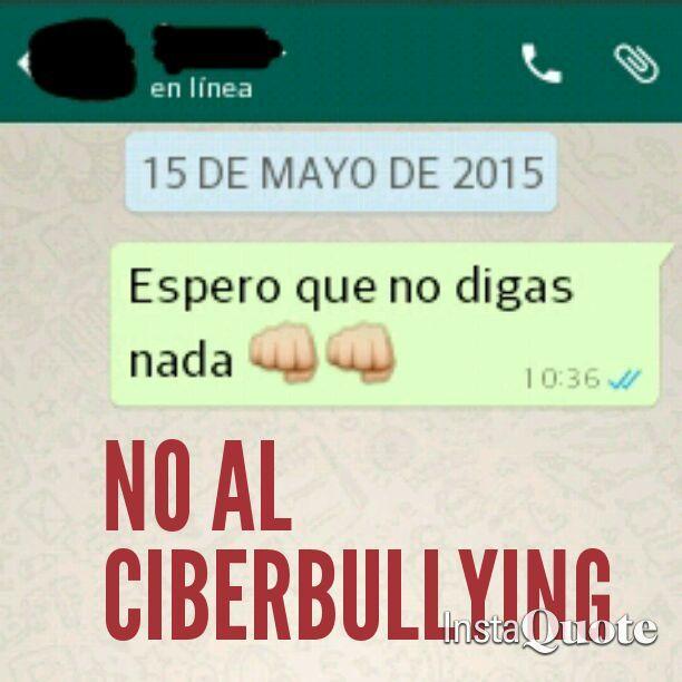 No al ciberbullying  Sheila Pais, Magalí Terragno, Florencia Martínez, Sofía Sotto - 1º Año Profesorado de Educación Inicial