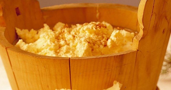 Eggost fra Flekkefjord (melk + syrnet melk + egg)