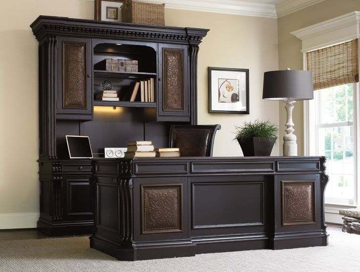 Office Desk Furniture For Home design with alphabetter desk the wooden houses office desk furniture for home Telluride 76 Executive Desk With Leather Top Hooker Furniture Home Gallery Stores