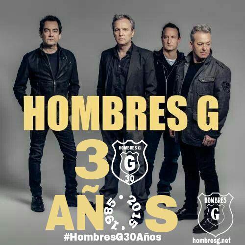 """Martes, 09 Junio 2015 20:53 Hombres G comienza su gira """"30 años y un día"""" este viernes 12 de junio en Murcia."""
