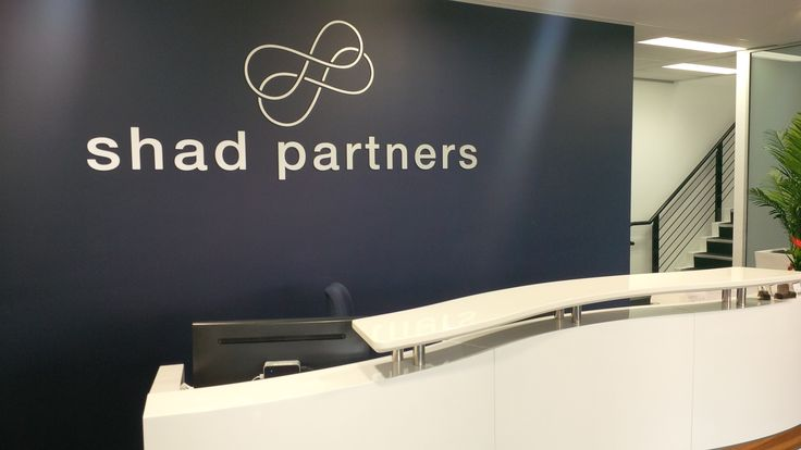 Shad Partners #CSI #3D #lettering #custom #sign #CAD #extrusion #signage #name #letter #word #corporate #school #recognition #identity #design