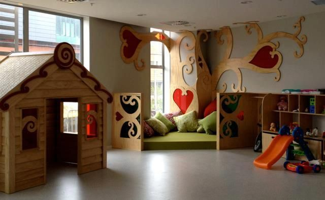 Love the playroom inside the expanded Ronald McDonald ...