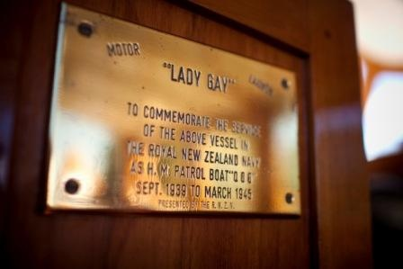 Lady Gay, a 47ft classic motor launch, circa 1935