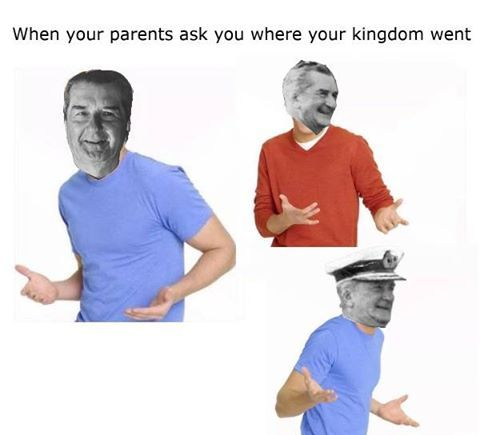 When your parents ask where your kingdom went.