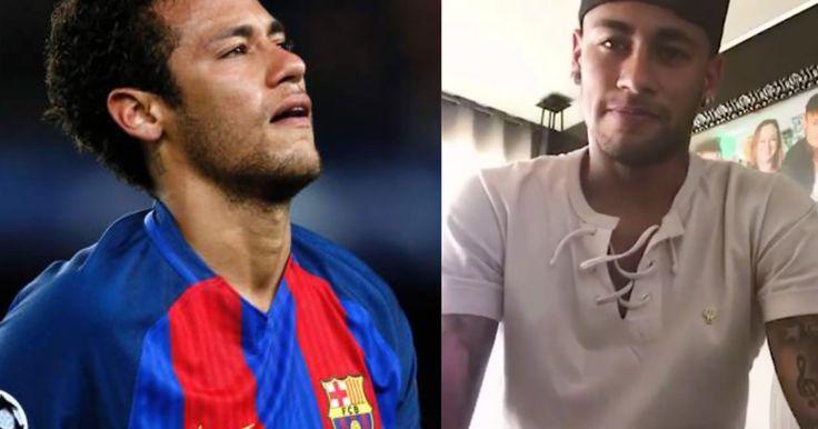 Mira el emotivo video de Neymar donde explica por qué se fue del Barcelona (VIDEO) #Deporte #Barcelona #Neymar