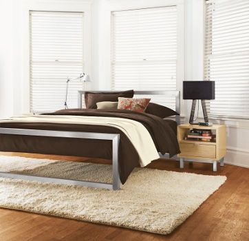 room and board piper bed frame