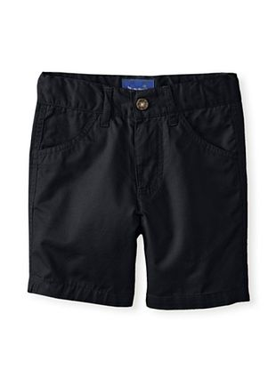 46% OFF Beetle & Thread Kid's Twill Shorts (Navy)