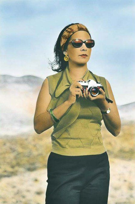 In her self-portrait, Tracey Moffatt presents herself as her work. 1999