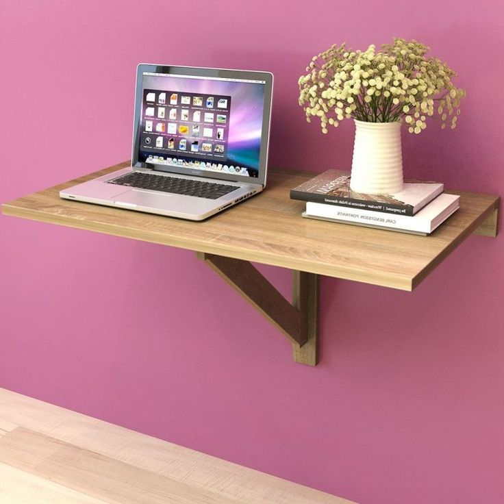 best 25 wall mounted folding table ideas on pinterest wall mounted table fold down desk and. Black Bedroom Furniture Sets. Home Design Ideas