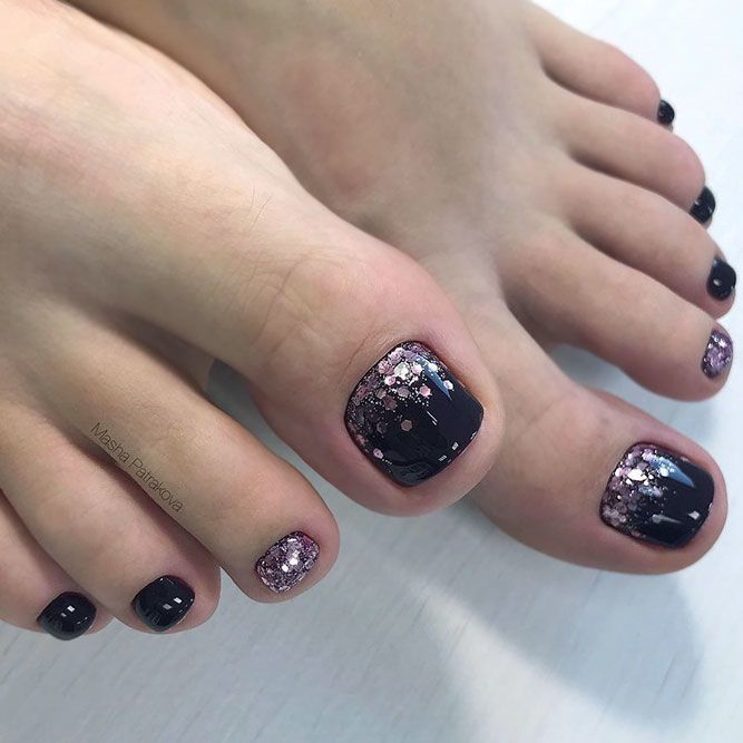 55 Original Toe Nail Colors To Try Out Naildesignsjournal In 2020 Toe Nail Color Fall Toe Nails Nail Colors