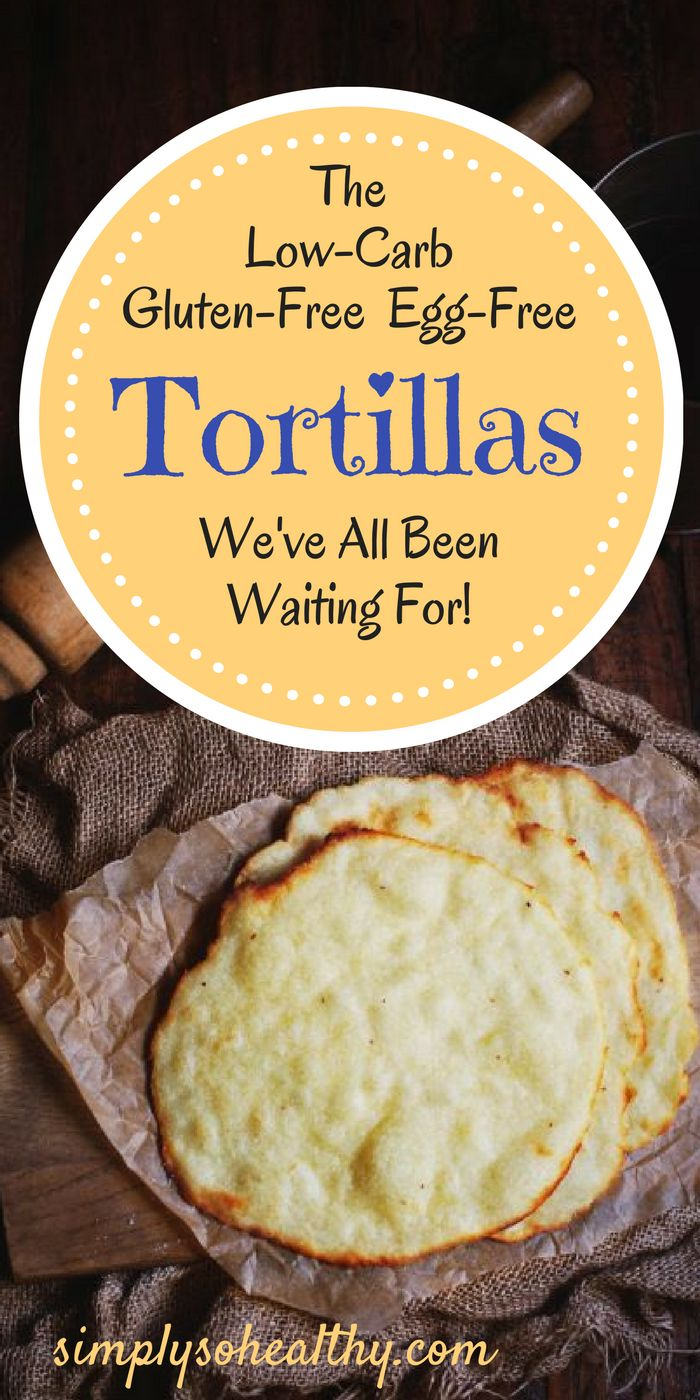Finally--it's the tortilla you've been waiting for! These low-carb tortillas are simple to make and require only three ingredients, yet they make delicious wraps for sandwiches and burritos! They are