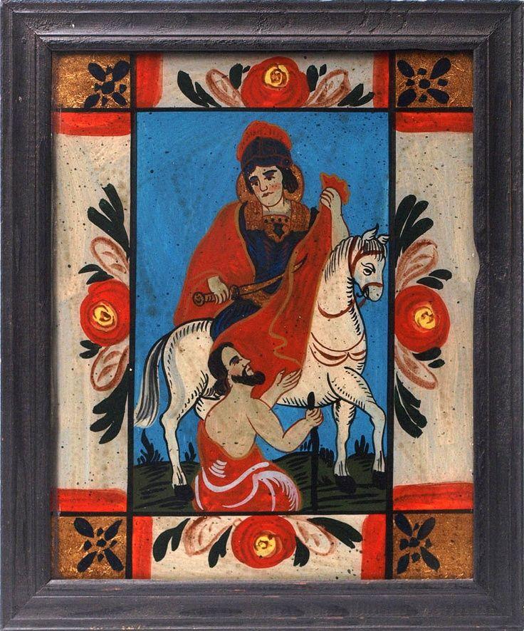 heilig alexander hinterglas malerei - Szukaj w Google