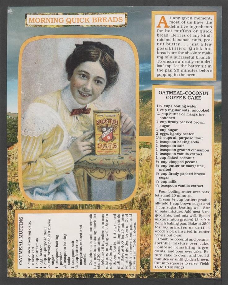 231 best *Antique Recipe\'s * images on Pinterest   Retro recipes ...