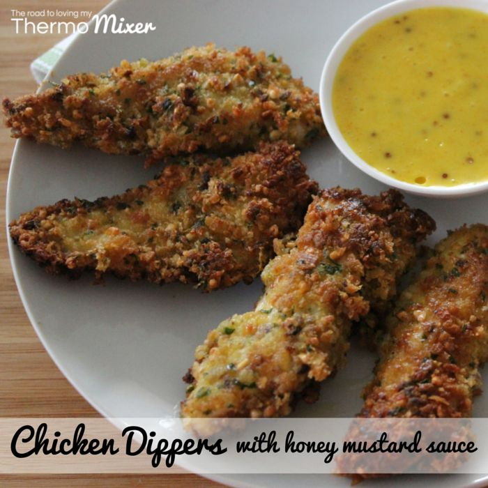 Anything in the form of a chicken nugget is popular in this house. This is a yummy midweek meal teamed up with honey