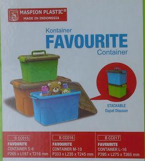 Selatan Jaya distributor barang plastik Surabaya: Box plastik favourite container kecil S-6 kode BCC...