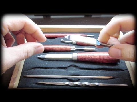 Mezzotint- Printmaking tool demonstration and guide - YouTube (13min) Excellent Demo