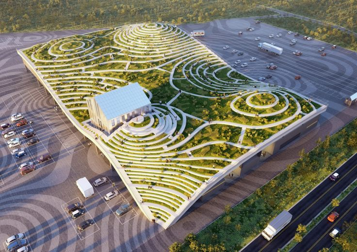 MVRDV plans Tainan Xinhua Fruit and Vegetable Market with