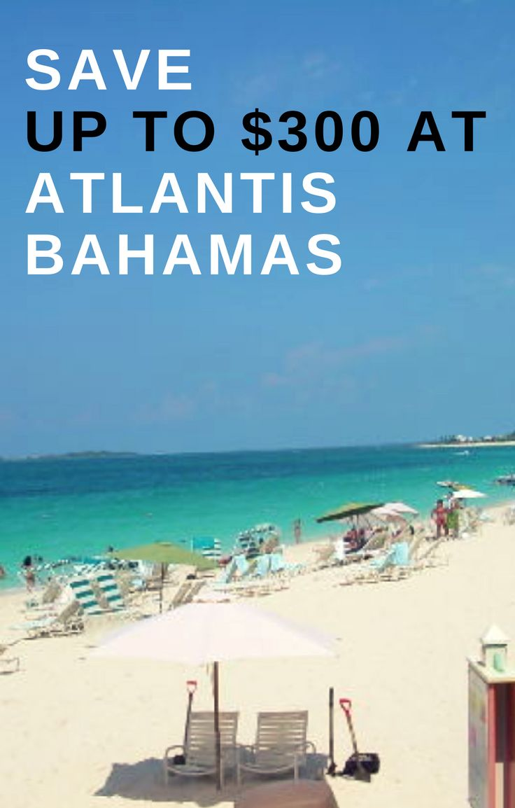 Save up to $300 on a vacation package at Atlantis Bahamas! Love Atlantis Bahamas? Want to go back, or enjoy a Bahamas vacation at Atlantis for the first time? Find out how you can bundle your hotel & flight together and save money on your Bahamas trip! #thanksgivingsale #atlantis #atlantisbahamas