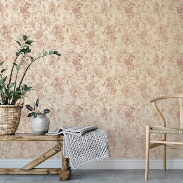 Tempaper Distressed Gold Leaf Vinyl Peelable Wallpaper Covers 56 Sq Ft Di644 The Home Depot In 2020 Removable Wallpaper Peel And Stick Wallpaper Living Room Wall