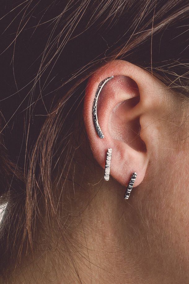 Whether you wear it as an ear climber or regular earring, you'll be hard to ignore.