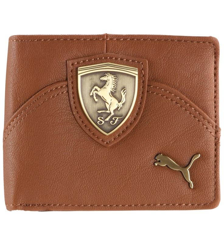 Puma Men's Ferrari Wallet II brown