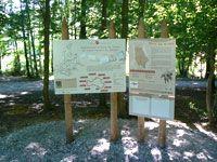 panneau d'accueil du sentier Randocroquis de Saint-Donat-sur-l'herbasse