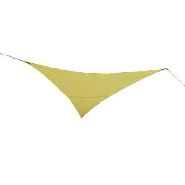 Voile d'ombrage triangulaire 3,60 x 3,60 x 3,60 m - Vert anis JARDIDECO