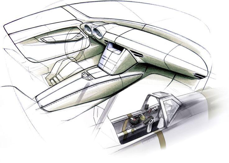 smart car interior sketch - Google 搜尋