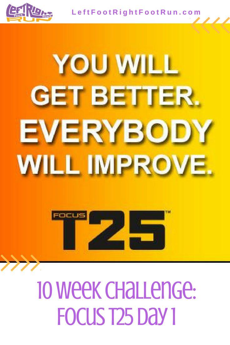 10 Week Challenge Focus T25