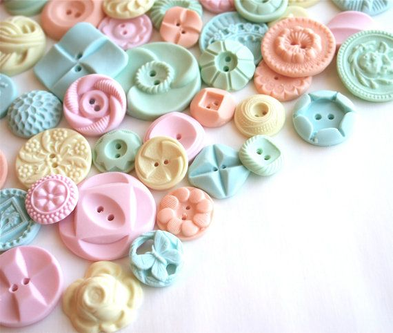 Pastel candy buttons from andiespecialtysweets
