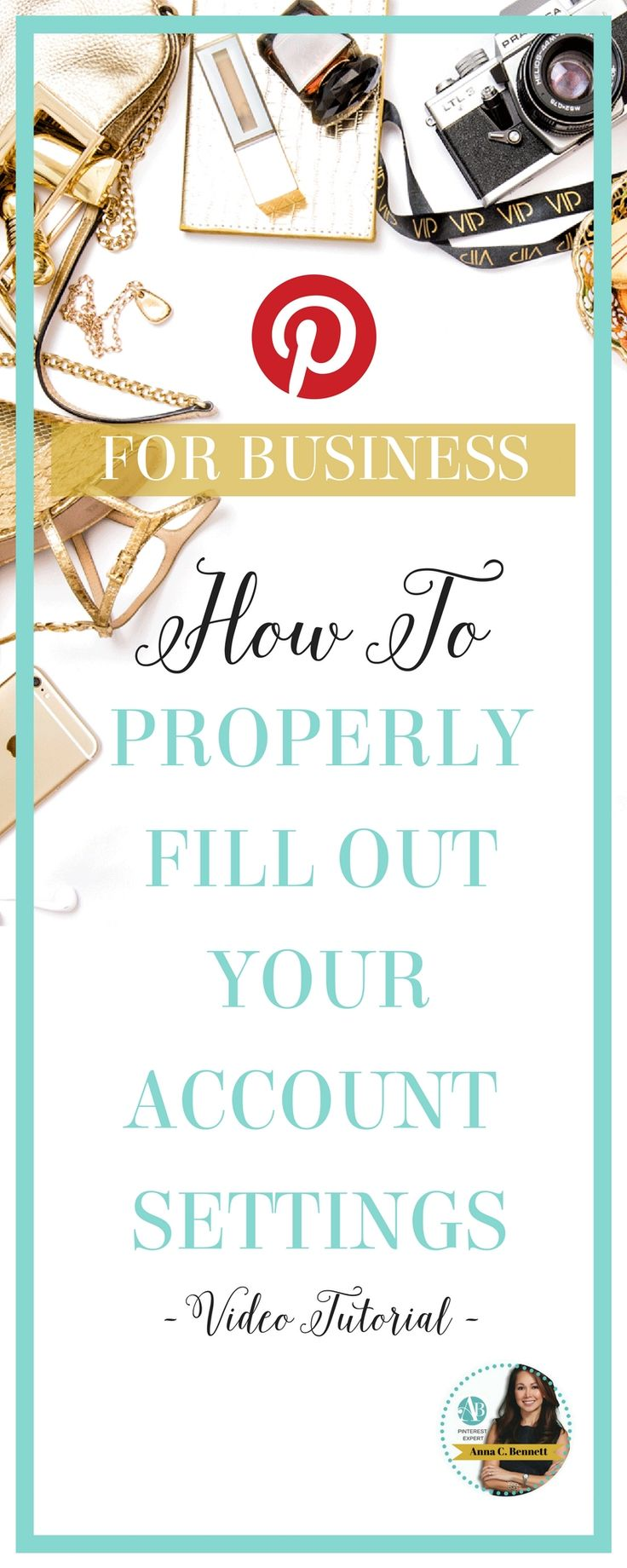 How to complete your account settings and how to stop seeing Picked for you pins in your home feed. Click here to see the video tutorial http://www.whiteglovesocialmedia.com/pinterest-management-shares-complete-business-account-settings/ | Pinterest Expert | Pinterest for Business