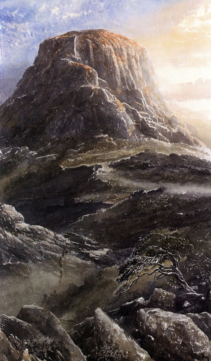 The Children of Húrin - Alan Lee - J. R. R. Tolkien