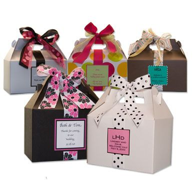 Gable Boxes for Out of Town Bags