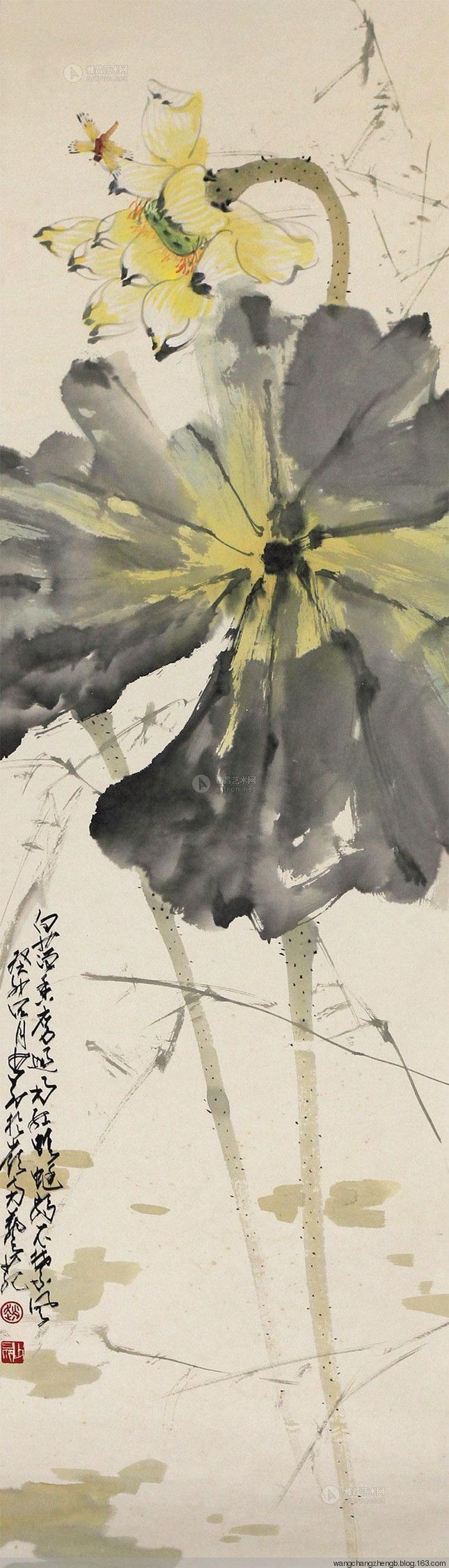 207 best lotus images on pinterest chinese painting chinese art wangchangzhengb wangchangzhengb chinese paintingwatercolor flowerschinese dhlflorist Choice Image