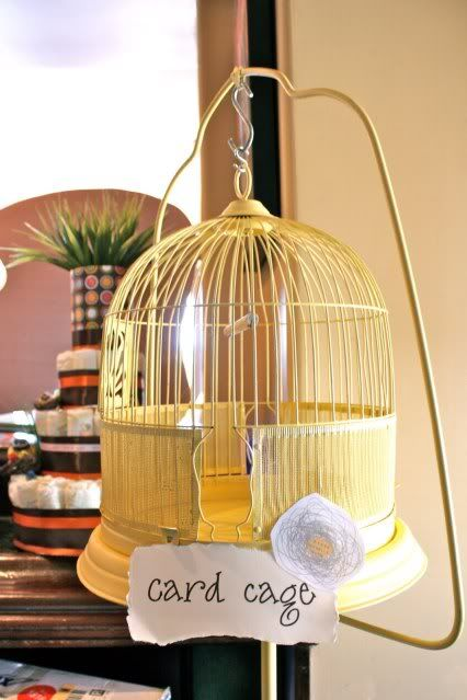 "Adorable baby shower theme...""Feathering the nest"""
