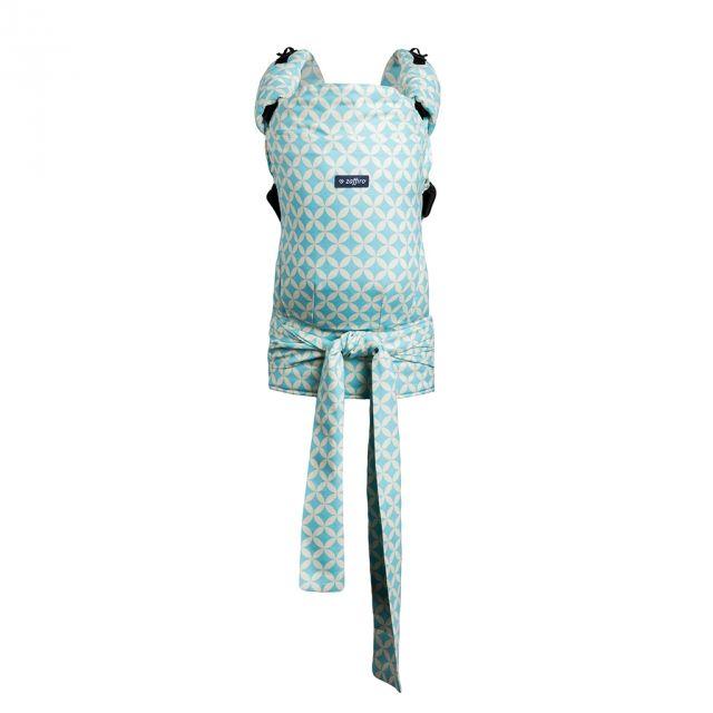 Baby carrier Zaffiro Joy Blue. Babywearing
