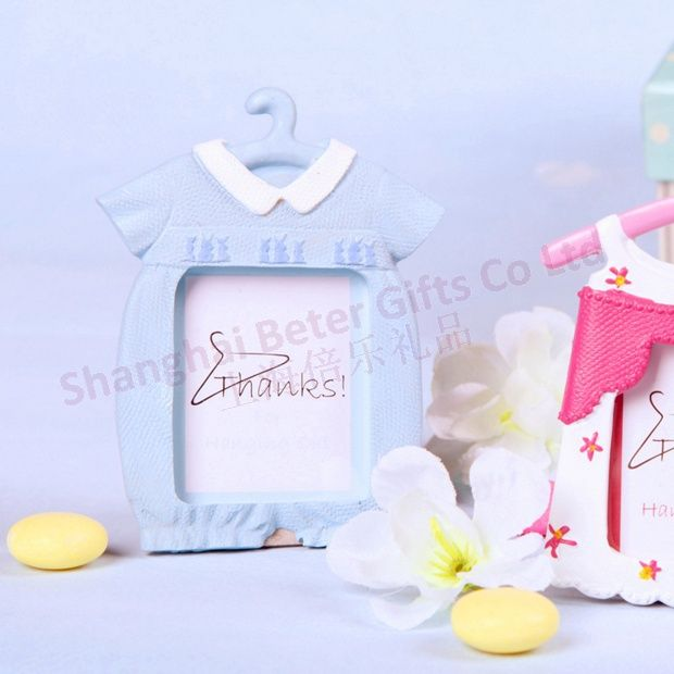 Free Shipping 100pcs Cute Baby Photo Frame/Place Card Favor SZ044 beach baptism boutique