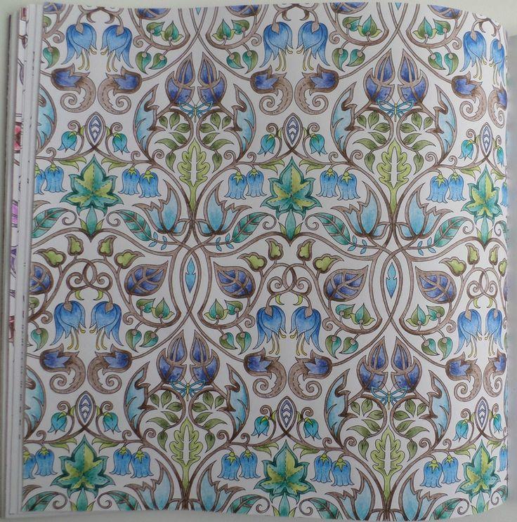 SAM 9157 Johanna BasfordSecret GardensColoring BooksColouring EnchanteMandalaSymbolsEnchanted ForestFlowers